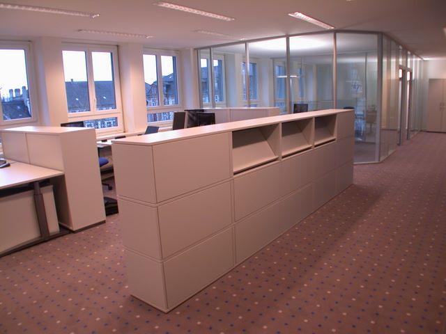 Fanair AG Büroeinrichtungen, Schränke, Büroregale, Schreibtische