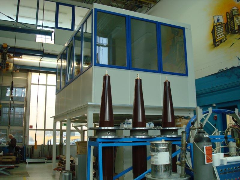 Fanair Werkstattbüros, Mehrzweckhäuser (Container), oder Pförtnerhäuser für Innen- und Aussenaufstellungen
