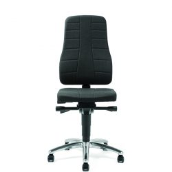 ESD, Bürostühle, Stapelstühle, Drehhocker, Stühle mit Rückenlehne, Stühle mit Armlehnen, Stühle ohne Armlehnen. Stühle mit Bodengleitern, Stühle mit Rollen, Treston-Stühle, Sattelhocker, Schalenstapelstühle, Bürostühle, Laborstühle, Werkstattstühle