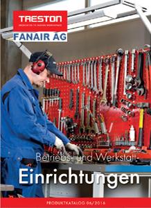 FANAIR Treston Betriebs- und Werkstatt-<br /> einrichungen 2017 - deutsch