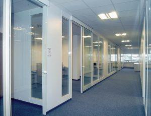 Fanair Bürotrennwand, Trennwände, Büros, Bürotrennwände