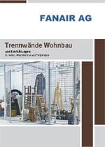 Fanair Trennwände Wohnbau 2019