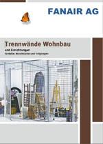 Fanair Trennwände Wohnbau 2020